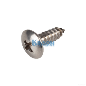 Stainless Steel Screws with Philips Pan Head Self Tapping screw steel SWRCH 18A 22A Q235 black zinc coating
