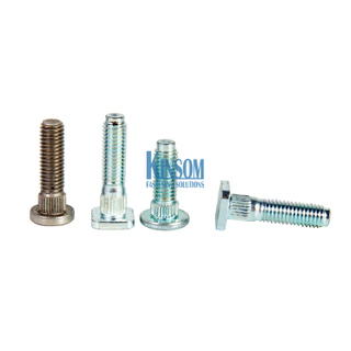 Square Knurled Head Machine Screws Automotive Fasteners