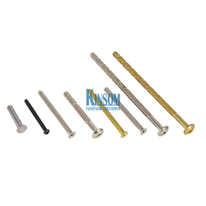 Steel Bolts Full Partial Thread Fasteners Special Size From Kinsom Copper Coating