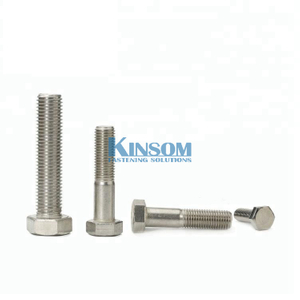 Hex bolt full partial thread bolts